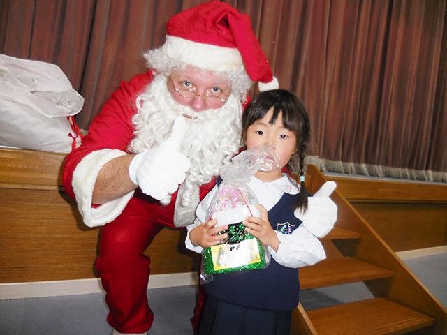 サンタさんからプレゼントをもらったよ♡